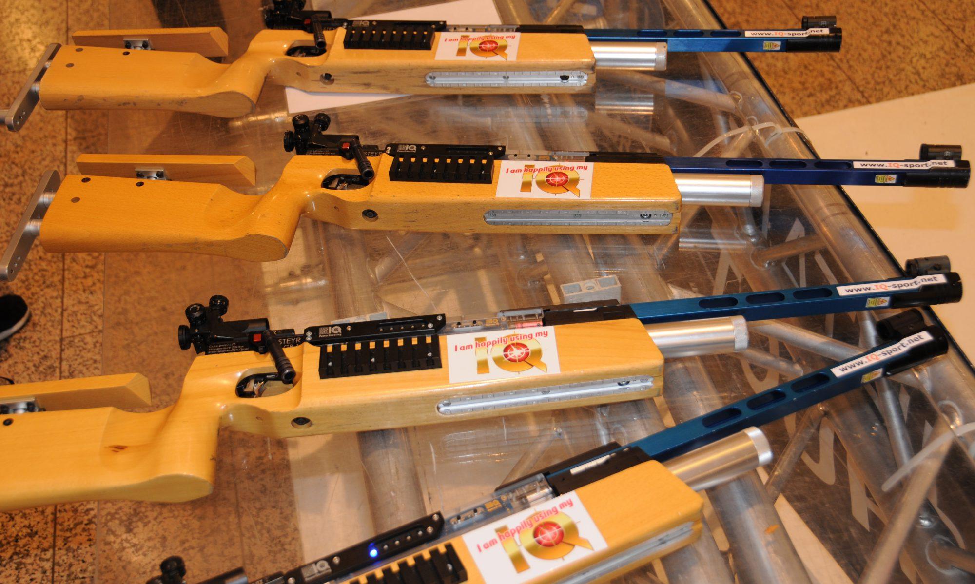 Laser-Biathlon - Olympia System